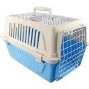 送料無料 子犬 猫 キャリーバッグコンテナ アトラス10ELオープン青 ファープラスト ペット用品 通院 旅行に便利なハードキャリーケース Fa9030 その1