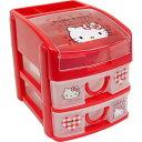 送料無料 ハローキティ ミニチェスト 収納ボックス CHE3N キャラクターグッズ おもちゃ箱 小物入れ Sk1579