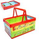 送料無料 サンリオキャラ 折りたたみボックス おもちゃ箱 BWOT13 キャラクターグッズ 収納ボックス 小物入れ Sk1573