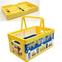 送料無料 ミニオン ボブ 折りたたみボックス おもちゃ箱 BWOT13 キャラクターグッズ 収納ボックス 小物入れ Sk1574