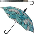 送料無料 スルット傘 水色花柄 迷惑かけない水濡れ防止傘 傘を畳んでから傘に付いた水が人や物に付かないためのカバー付 Yu026