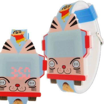 クレヨンしんちゃん バス ライティングウォッチ 腕時計 キャラクターグッズ 子供用腕時計 Un208
