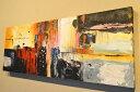 アートパネル 10cm単位でサイズオーダーできる 絵画 壁掛け インテリア 壁飾り キャンバス アート ウォール 滝 ジャングル 森 クジャク 鳥 e323080