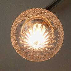 ペンダントライトアンティークレトロ1灯ガラスクラシック北欧西海岸LED対応長さ加工真鍮ハンドメイドランプ廊下ダイニング玄関60Wお洒落モダンガラス天井照明カフェ風FRAISEフレーズサンヨウSUNYOWFC-336