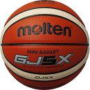 送料無料(※沖縄除く)[molten]モルテンバスケットボール検定5号球GJ5X(BGJ5X)オレンジ×アイボリー