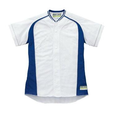 送料無料(※沖縄除く)[SSK]エスエスケイジュニア用・切替メッシュシャツ(US0003JM)(1063S)ホワイト×Dブルー×Sグレー