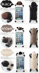 レビューで【送料無料】SHEEPYiPhone5ケースふわふわ羊ぬいぐるみのスマホケースiphone5カバー横置きスタンドにもなるシーピーひつじアイフォンスマホカバースマートフォンCAHTTYあす楽対応