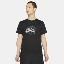ナイキ[NIKE] 陸上 ランニング 半袖 Tシャツ 男性 Men's Short-Sleeve Running Top メンズ DF マイラー WR GX S/Sトップ DA0217(010) ブラック/リフレクトシルバー