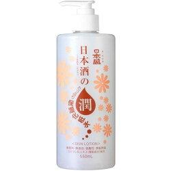 日本盛日本酒のたっぷり保湿化粧水550ml【RCP】