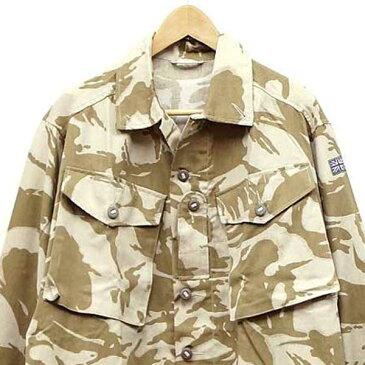新品◆実物 イギリス軍 TROPICAL COMBAT ジャケット デザートDPMカモフラージュ♪ミリタリー デッドストック アウトドア 北欧 ユーロ 放出品 UK 英軍 迷彩
