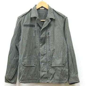 【中古】◆実物 フランス軍 F2ジャケット 1980年代 ♪軍物 ミリタリー ヨーロッパ コンバット アーミー 軍用