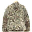 【中古】◆実物 米陸軍 BDU マルチカムフィールドジャケット♪US....
