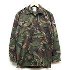 新品◆実物 オランダ軍 フィールドシャツ DPMカモ 国旗章付き♪デッドストック 迷彩 ミリタリー アーミー 軍物 ユーロサープラス 長袖
