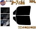 フロント (b) ワゴンR MH21S MH22S カット済みカーフィルム ...