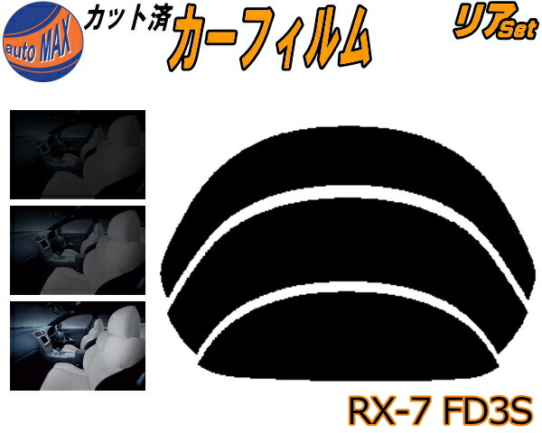 日除け用品, カーフィルム  (b) RX-7 FD3S UV RX7 R RS-R