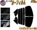 半額 リア (b) ベンツ Aクラス 5D ショート W168 カット済みカーフィルム リアー セッ ...