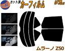 リア (s) ムラーノ Z50 カット済みカーフィルム リアー セッ...