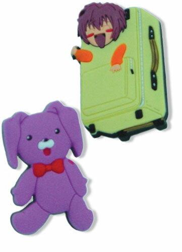 グラビテーション スーツケース & くまごろう 二個入り ピンバッジ グッズ 北米版画像