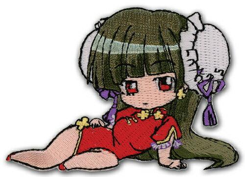 ぱにぽにだっしゅ! 橘玲 刺繍 アイロンワッペン グッズ 6-10cm 北米版画像