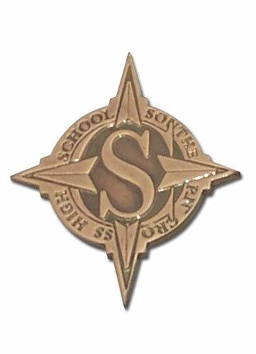 STAR DRIVER 輝きのタクト 南十字学園 & エンブレム ピンバッジ グッズ 北米版画像