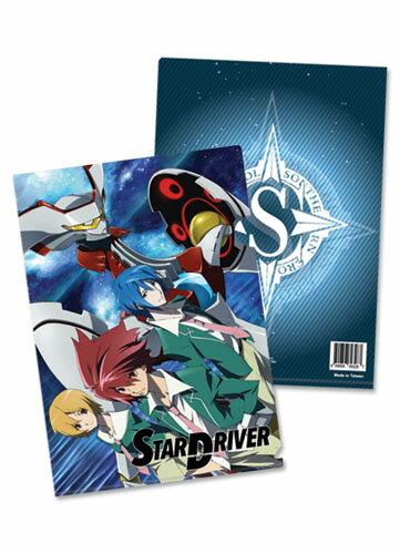 STAR DRIVER 輝きのタクト タクト & ワコ & スガタ 5枚セット 21.8×31cm クリアファイル グッズ 北米版画像