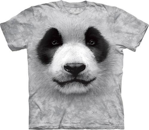 トップス, Tシャツ・カットソー S-L The Mountain Big Face Panda T