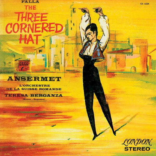 【新品レコード】45回転/2枚組 アンセルメ指揮ファリャ「バレエ組曲 三角帽子」