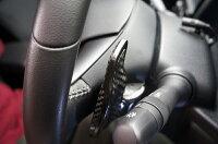1月末から2月初め頃発送予定スバル専用ドライカーボン製パドルシフトカバー左右2点セット【貼り付けタイプ】WRXSTI/S4インプレッサG4/スポーツ用