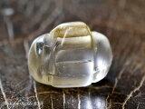 【1806】プル族の護符ガラスの小型ペンダントTOP,とんぼ玉,アンティークビーズ