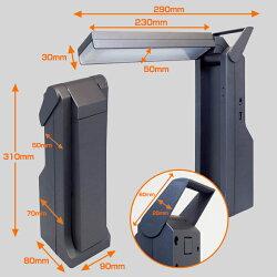 「スイートライト・ポータブル」持ち運び可能な、読書に最適充電式LEDデスクライト