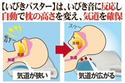 「いびきバスター」枕いびき対策安眠快眠音感センサーハイテク枕【楽フェス_ポイント2倍】