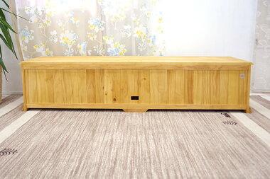 無垢材家具,横面も背面も無垢材