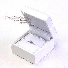 ◆ 純白 マリッジリング ケース ◆ 化粧箱付き ◆ あす楽対応 あす楽可 ≪ カワイイ ♪ 真っ白 ...
