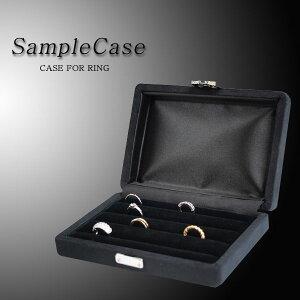 ブラック サンプル ディスプレイ 持ち運び ジュエリー アクセサリー jewelrybox ブライダル