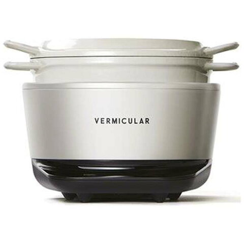 バーミキュラ VERMICULAR RP19A-WH 炊飯器 VERMICULAR RICEPOT MINI(バーミキュラ ライスポットミニ) シーソルトホワイト [3合 /IH] 輸送用箱痛み品