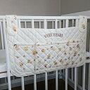 ベビーベッド 小物入れ ベリーベア カラフル サイドポケット ウォールポケット 日本製 送料無料 ベッド周り 収納 吊り ベビー 赤ちゃん かわいい おしゃれ
