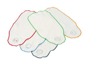 ●赤ちゃん・汗取りパット5枚セット/無添加ダブルガーゼ●【日本製】【5枚組】【背中・汗取りパッド】【ベビー】【フジキ】