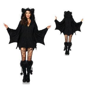 コウモリ衣装 大きいサイズXL ハロウィン衣装 ホラー 蝙蝠コスプレ 衣装 動物コスプレ ...