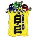 m&m'sチョコレートワッペンエムアンドエムズアイロン接着タイプ洋服やキャップのカスタムに最適アメリカ雑貨アメリカン雑貨キャラクター
