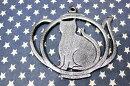 アイアン製の鍋敷き★雰囲気のあるネコのデザイン★金属製猫雑貨おしゃれ店舗カフェインテリア