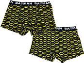 バットマンメンズボクサーパンツBATMANお馴染のロゴ柄アメコミ雑貨下着