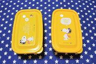 スヌーピー&ウッドストックフードコンテナ2個セットフライングエース柄保存容器ランチシリーズPEANUTSSNOOPYお弁当箱雑貨キャラクタースヌーピーグッズおしゃれポップかわいいお弁当