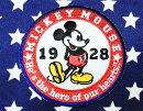 ミッキーマウス★ワッペン・ラウンド・アイロン接着タイプ★ディズニーミッキー★アメリカ雑貨アメリカン雑貨キャラクターディズニーグッズ