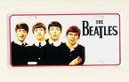 ビートルズ THE BEATLES ホワイト ライセンスプレート 完全売り切り品 アメリカ ブリキ看板 アメリカン雑貨 アメリカ雑貨 サインプレート サインボード メタルプレート おしゃれ カフェ バー 店舗 インテリア ブリキ ポスター 看板