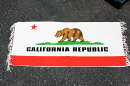 カリフォルニア州旗柄★フロアマット・キッチンマットサイズ・約120×50センチ★綿100%★【あす楽対応_関東】【あす楽対応_近畿】