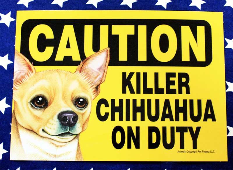 オーナーズグッズ, その他  002 KILLER CHIHUAHUA ON DUTY