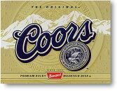 COORS★クアーズゴールドラベル★ビール系★アメリカンブリキ看板