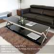 【送料無料】ガラステーブル ステンレス 北欧スタイル 完成品 スタイリッシュ 強化ガラス シンプルモダンなリビングテーブル センターテーブル 大型 180cm