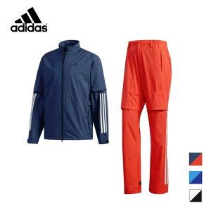 【30%OFFセール】【土日もあす楽】メンズ ゴルフ adidas(アディダス) レインウェア PF CLIMASTORM 19SS レインスーツ ゴルフウェア FVE32