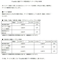 SIMカードU-mobile通話プラスプラン(カード後日発送)4GLTEDocomosim使い放題も月額1,480円から選べるプラン多数送料無料